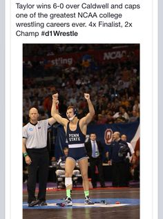 David Taylor 2014 NCAA Champion. Amazing way to end his college career