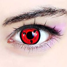 Naruto Sharingan Contact Lenses #naruto #sharingan #cosplay #merch #anime #merchandise