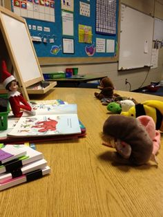 Ms. Cranfill's Class: elf on the shelf