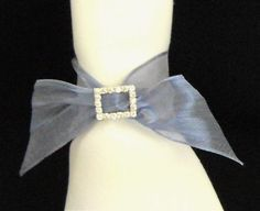 Bling and Ribbon Napkin Ring