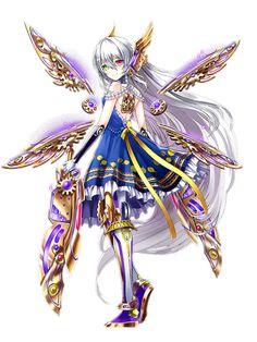 Gothic Anime, Anime Angel, Kawaii Anime Girl, Anime Art Girl, Manga Characters, Fantasy Characters, Fan Anime, Weapon Concept Art, Beautiful Anime Girl