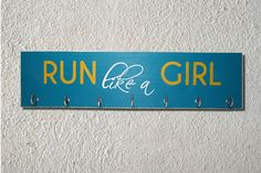 Running Medal and Ribbon Display Board for by SweetDreamMurals Ribbon Display, Award Display, Running Medals, Hand Painted, Unique Jewelry, Board, Handmade Gifts, Vintage, Etsy