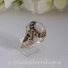 Giftring Damen Ring Silber 925 mit Mondstein Sterlingsilber Gr. 60