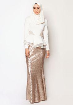 Pinned via Nuriyah O. Martinez | Buy Zalia Embellished Double Peplum Top Online | ZALORA Malaysia