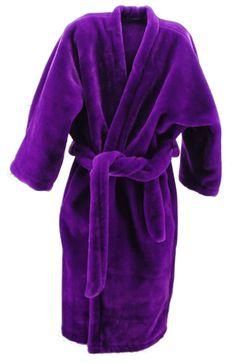 women's bath robes | Royal Purple Lounging Robe - Large View