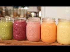 Monday to Friday - 5 Ultimate Breakfast Smoothie Recipes! - DIY Joy
