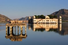 Jaipur Lake Palace, on the way to Amber and Tiger forts  The Amber fort is 11 km north of Jaipur. It was the Maharaja's palace before the ci...