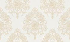 La Romantica Tapete 937411 Weiß Creme Barock , Ornament - Vlies - Kaufen bei SENDMAX GmbH & Co. KG