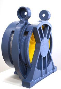 Täuschend echtes Gussteil aus Styropor® als Deko-Objekt auf der Messe!