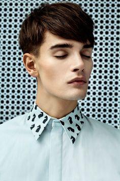 Johanna Startek - Men Lookbook -13 -- love the collar detail