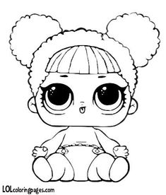 Queen Bee lol doll valentine coloring page | LOL Surprise ...