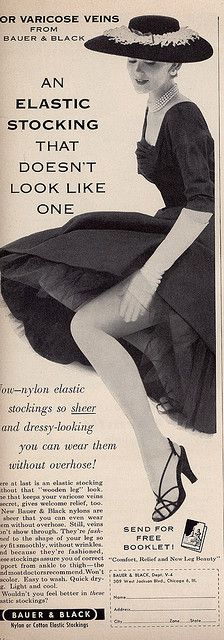 Let's be candid. Elastic Stockings, Silk Stockings, Stockings And Suspenders, Black Stockings, Stocking Tops, Stocking Tights, Nylons, Vintage Advertisements, Vintage Ads