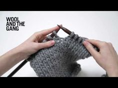 How To Increase Stitches In Knitting - YouTube
