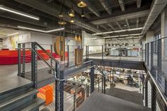 IA Interior Architects have completed the new offices of global activity and event marketplace ACTIVE Network located in Dallas, Texas.