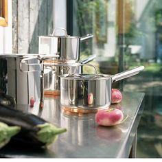 There are good reasons why stainless steel is used in professional kitchens, including its hygienic and hard-wearing properties