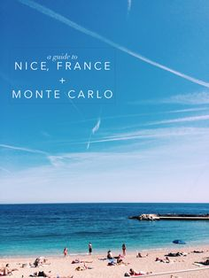 What to do in Nice, France + Monte Carlo