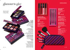 My top 10 holiday gift ideas.  Mix and match these gifting ready makeup picks for a custom gift for all the makeup lovers on your gift list. Shop now at http://www.youravon.com/carnold?utm_content=buffere5fe8&utm_medium=social&utm_source=pinterest.com&utm_campaign=buffer