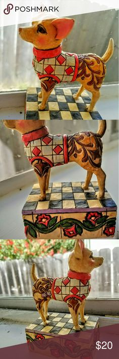 """Jim Shore- """"Cheech"""" Chihuahua Figurine No cracks or stains. In great condition! Jim Shore Other"""