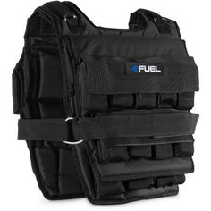 Fuel Pureformance Adjustable Weighted Vest, Black