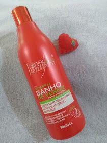 Kit Banho De Verniz Morango Da Forever Liss E Bom Banho De