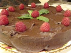 Flourless Carob Cake