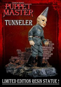 Tunneler Resin Figure