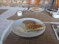 Machaca Burritos. Home made.