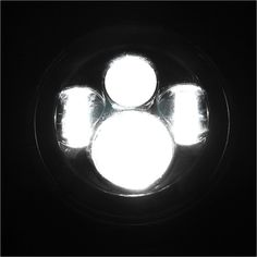 """Mad Hornets - 5.75"""" LED Motorcycle Headlight Lamp Daymaker DRL Bulb Harley Dyna Softail Clear, $88.99 (http://www.madhornets.com/5-75-led-motorcycle-headlight-lamp-daymaker-drl-bulb-harley-dyna-softail-clear/)"""