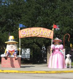 New Orleans' Storyland has 25 larger then life exhibits, making it the perfect place for kids to play!