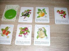 Heimisches Obst Peterspiel unbenutzte Karten Altenburg DDR TOP