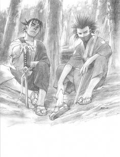 Hiroaki Samura, Blade of the Immortal, BotI Illustration Collection, Taito Magatsu, Manji