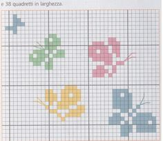 Tiny Cross Stitch, Butterfly Cross Stitch, Cross Stitch Animals, Cross Stitch Flowers, Cross Stitch Designs, Cross Stitch Patterns, Loom Patterns, Cross Stitching, Cross Stitch Embroidery