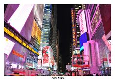 Pink Times Square - New York, New York