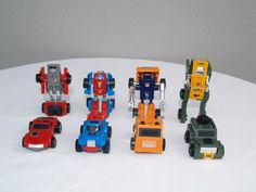 Transformers G1 Windcharger, Gears, Huffer and Brawn