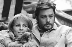 Alain Delon images Alain and Nathalie Delon HD wallpaper and . Romy Schneider, Cinema, Old Paris, Brigitte Bardot, Stock Pictures, Belle Photo, Old Hollywood, The Dreamers, Retro