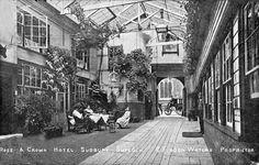 suffolk, sudbury, rose and crown hotel