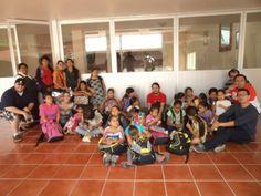 Donación de útiles escolares a las niñas de Casa Hogar María Teresa A.C