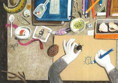 felicita sala illustration: Crescendo, a new book