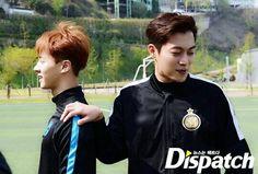 Gikwang Dujun - Beast 160423 | Shoot for Love Charity Campaign | 160428 koreadispatch update instagram