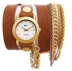 La Mer Arizona Tobacco Wrap Watch