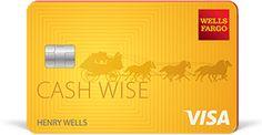 Wells Fargo Cash Wise Visa Card details