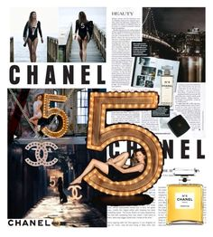 """""""Chanel no5"""" by kristinageorgieva ❤ liked on Polyvore featuring Chanel"""