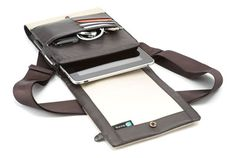 """Booq Bag"" iPad / gadget man-purse :)"