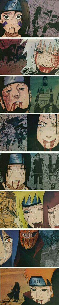 Naruto shippuden. Deaths