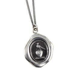 Something Silver | Pyrrha Sterling Silver Martlet Heart Talisman Necklace
