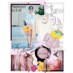 """""""Summer to Fall"""" by my-world-in-colors on Polyvore"""