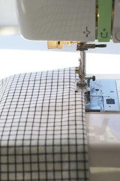 Sewing 101: Mitered Napkins | Nicole's Classes