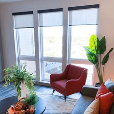 Commercial Window Treatments | Indianapolis, Indiana | Drapery Street Window Coverings, Window Treatments, Recessed Ceiling, Indianapolis Indiana, River House, Senior Living, Patio Doors, Child Safety, Drapery