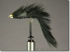 Black Conehead Woolhead Sculpin - Fly | Large