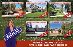 Post card for realtor Ruth Rose designed by Russell Paris at JRP Graphics, September